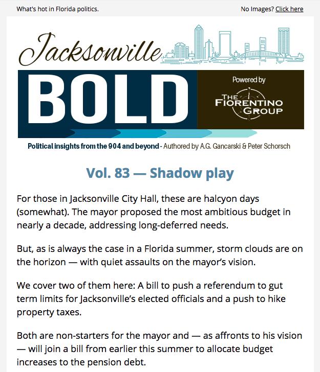 Jacksonville Bold Emails