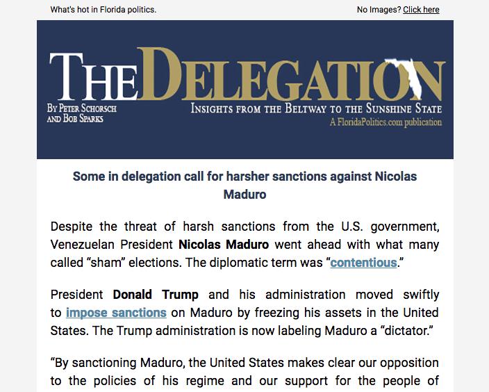 The Delegation Emails